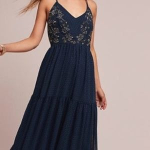 NEW Anthropologie Ranna Girl Maxi Dress